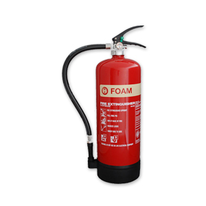 Foam fire extinguisher for hire for events
