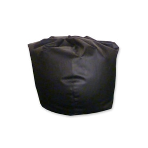 leather bean bag for hire