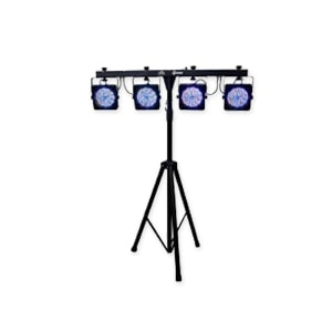 Disco lights on stand for hire