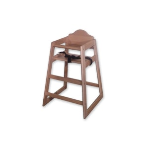 Wooden high chair for hire for events