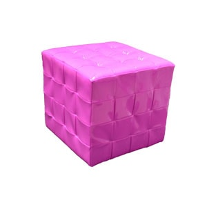 Chesterfield style cube stool or end table for hire
