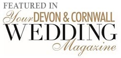 Logo for Your Devon and Cornwall Wedding Magazine - Barny Lee Marquees as featured in