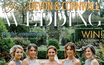 Barny Lee Marquees Wedding Planning Services Featured in Devon & Cornwall Wedding Magazine
