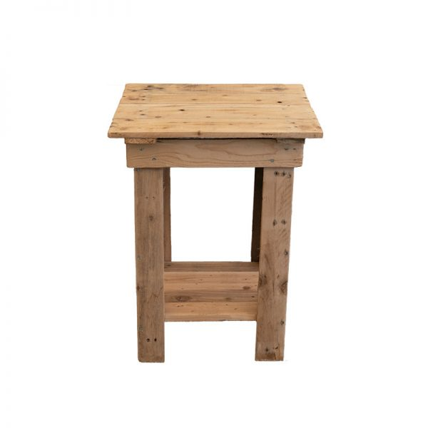Rustic Wood Drinks Table for hire